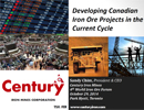 Developing Canadian Iron Ore Projects in the Current Cycle